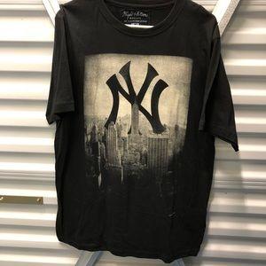 Yankee shirt. Purchased at Yankee stadium.  XLarge